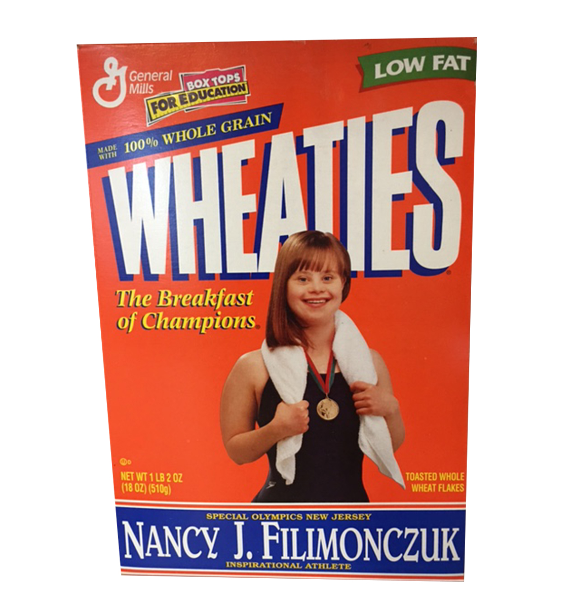 Wheaties Box Featuring Special Olympian Inspires Strength