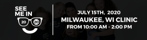 Milwaukee see me in 2020 clinic banner